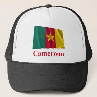 名前のカメルーンの振る旗 キャップ