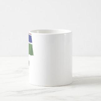 名前のガンビアの振る旗 コーヒーマグカップ