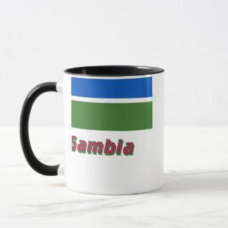 名前のガンビアの旗 マグカップ