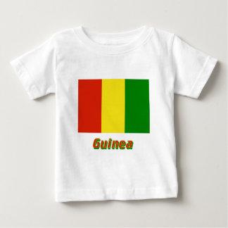 名前のギニーの旗 ベビーTシャツ
