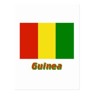 名前のギニーの旗 ポストカード