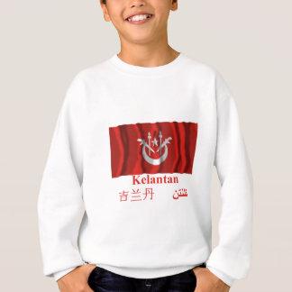 名前のクランタン州の振る旗 スウェットシャツ