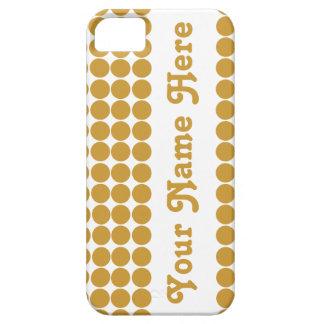 名前のスーダンブラウンのサファリの点 iPhone SE/5/5s ケース