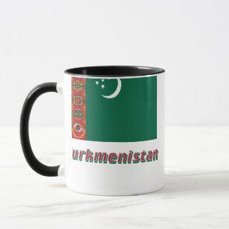 名前のタキマンニスタンの旗 マグカップ