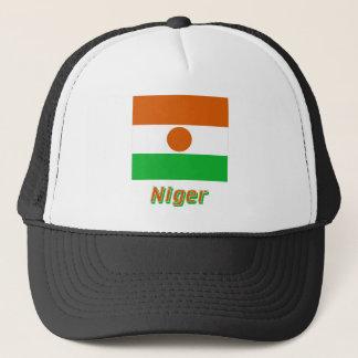 名前のニジェールの旗 キャップ