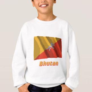 名前のブータンの振る旗 スウェットシャツ