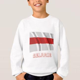 名前のベルラーシの伝統的な振る旗 スウェットシャツ