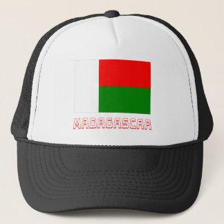 名前のマダガスカルの旗 キャップ