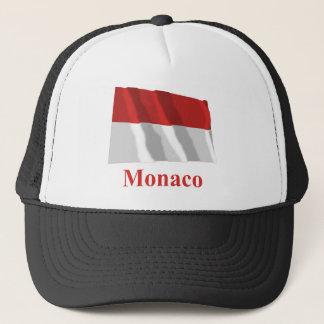 名前のモナコの振る旗 キャップ
