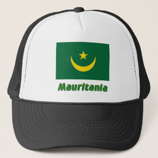 名前のモーリタニアの旗 キャップ