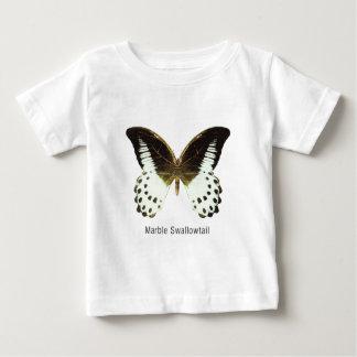 名前の大理石のアゲハチョウ ベビーTシャツ