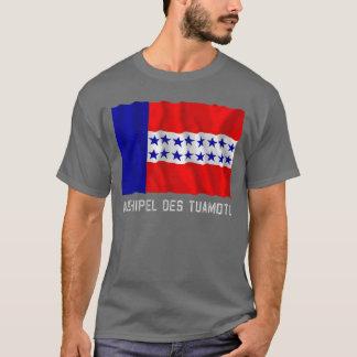 名前のArchipel des Tuamotuの振る旗 Tシャツ