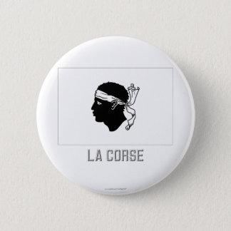 名前のCorseの旗 缶バッジ