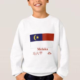 名前のMelakaの旗 スウェットシャツ