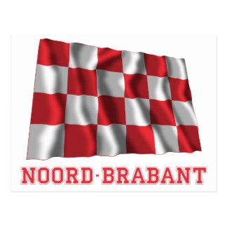 名前のNoordブラバントの振る旗 ポストカード
