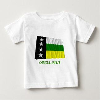 名前のOrellanaの振る旗 ベビーTシャツ