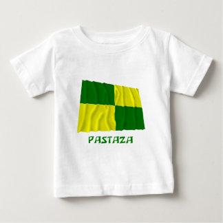 名前のPastazaの振る旗 ベビーTシャツ