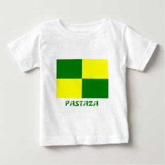 名前のPastazaの旗 ベビーTシャツ