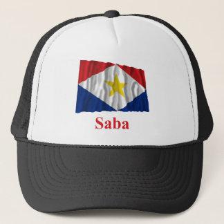 名前のSabaの振る旗 キャップ