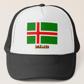 名前のSmålandの旗(非公式な) キャップ