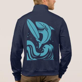 名前をカスタムするのサーファーのワイシャツ及びジャケット ジャケット