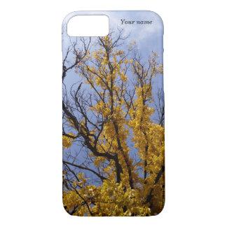 名前をカスタムするの自然の木の写真のiPhoneの7/6s場合 iPhone 8/7ケース