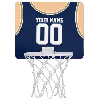 名前をカスタムするまたは数小型バスケットボールたが ミニバスケットボールゴール