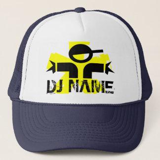 名前をカスタムするを用いる名前入りなDJの帽子 キャップ