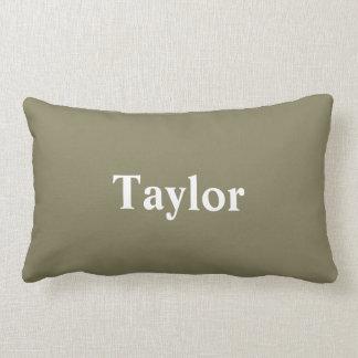 名前をカスタムするを用いる枕 ランバークッション