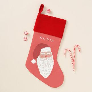 名前をカスタムする|サンタのクリスマスのストッキング クリスマスストッキング