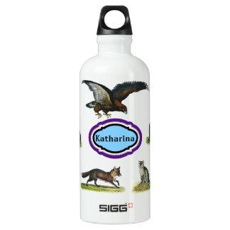 名前をカスタムする-動物の水差し SIGG トラベラー 0.6L ウォーターボトル
