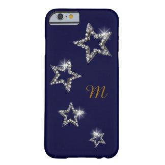 名前イニシャルが付いている華麗な星 BARELY THERE iPhone 6 ケース