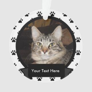 名前入りあなたのペット猫 オーナメント