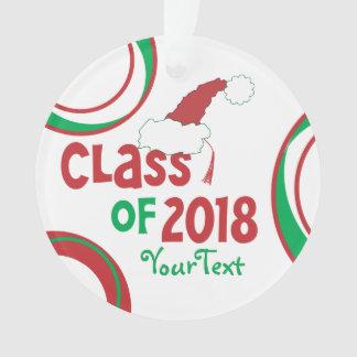 名前入りでおもしろいな©のクラスの2018年の卒業生のふさ オーナメント