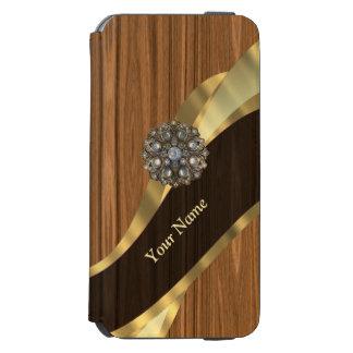 名前入りでかわいらしく模造のなマツ木 INCIPIO WATSON™ iPhone 6 ウォレットケース