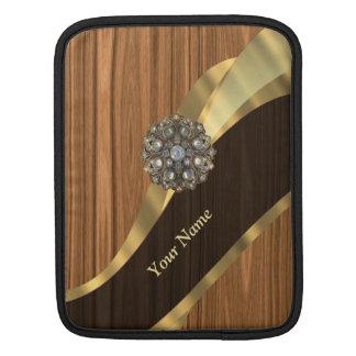 名前入りでかわいらしく模造のなマツ木 iPadスリーブ
