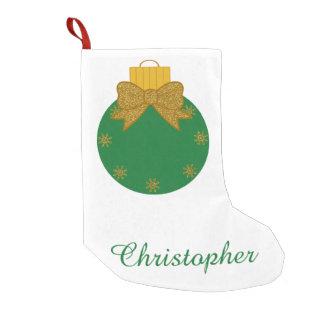名前入りでカスタムなクリスマスのストッキング スモールクリスマスストッキング