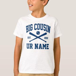 名前入りで大きいいとこの野球 Tシャツ