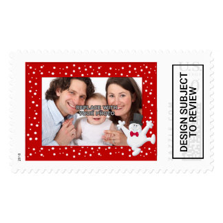 Personalized Happy Holidays Xmas Postage