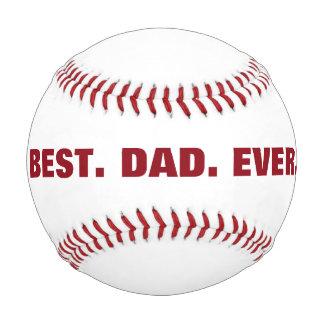 名前入りで最も最高のなパパの野球 野球ボール