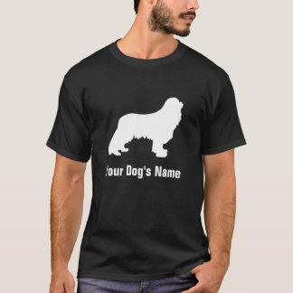 名前入りで無頓着なチャールズ王スパニエル犬のキャバリア Tシャツ