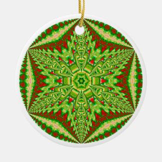 名前入りで目まぐるしい雪片Ornament.7 セラミックオーナメント