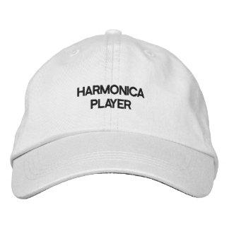 名前入りで調節可能な帽子 刺繍入りキャップ