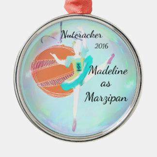 名前入りなくるみ割りのオーナメント-マルチパン メタルオーナメント