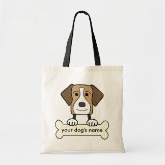 名前入りなアメリカFoxhound トートバッグ