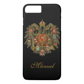 名前入りなオーストリアハンガリー iPhone 8 PLUS/7 PLUSケース