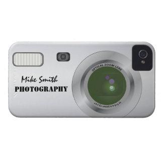 名前入りなカメラのカメラマンのiphoneの場合 Case-Mate iPhone 4 ケース