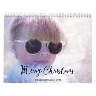 名前入りなカレンダー2016年のメリークリスマス カレンダー
