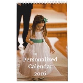 名前入りなカレンダー2016年 カレンダー