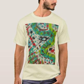 名前入りなギフト-抽象デザイン Tシャツ